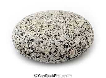 granit, stein, -, runder