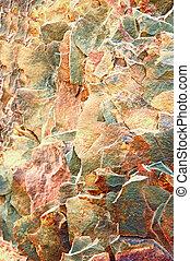 granit, sten, färgrik, bakgrund.