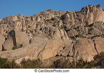 granite and its forms