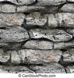 Granite brick wall seamless background texture