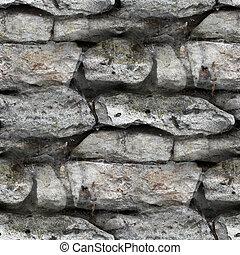 Granite brick wall seamless background texture