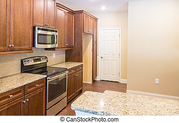 Granite Countertops in New Kitchen