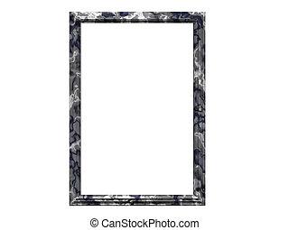 Granite PictureFrame - Isolated granite picture frame