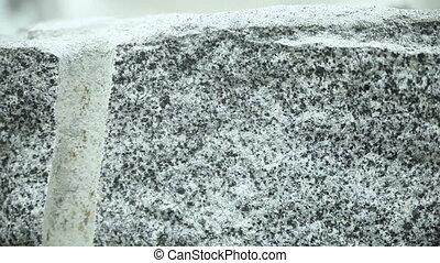 Granite quarry drilling - Drilling drill in granite quarry....