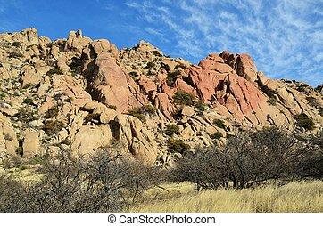 Granite Rock Formations in Arizona