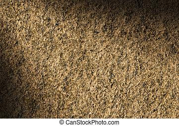 Granite rock stone texture lit diagonally