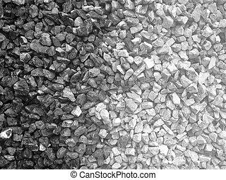 Granite Rubble For Construction - Two Tone