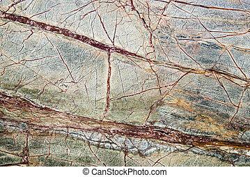 Granite slab - Colorful granite slab - closeup background...