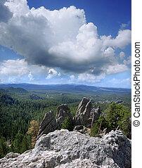 Granite Spires in the Black Hills of South Dakota