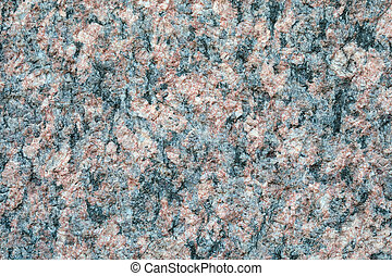 Granite stone crystal texture