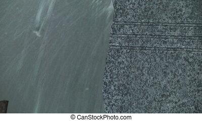 Granite stone cut saw - Granite processing in manufacturing....