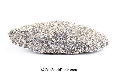 Granite stone isolated