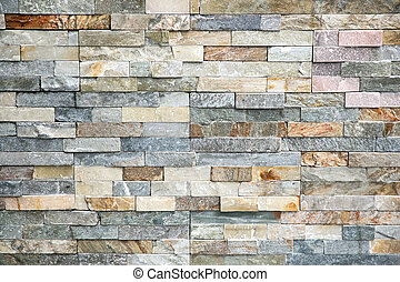 Decorative tiles made from natural granite stone