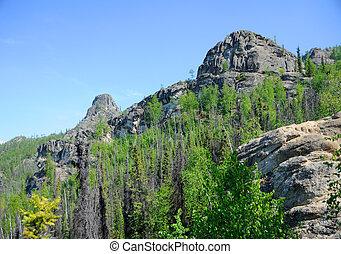 Granite Tors along Alaska Hike