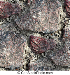 granite wall background seamless texture old