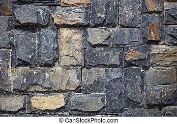 Granite walls
