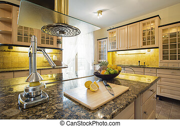 granitic, squeezer, countertop