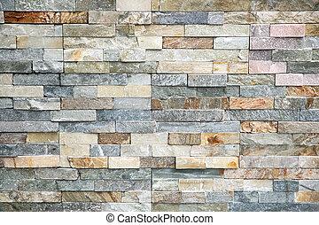 granito, piedra, azulejos