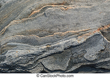 granito, piedra, superficial, dof, textura