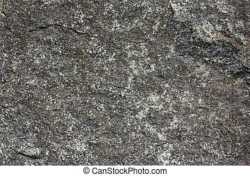 granito, textura, pretas, variedade