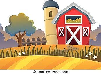 granja, topic, imagen, 9