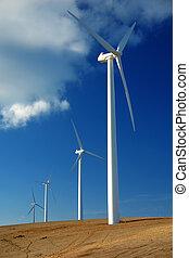granja, viento
