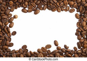 grano de café, marco