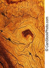 grano legno, alterato