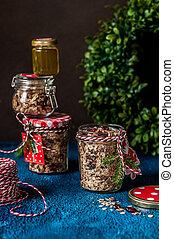 granola, クリスマスの ギフト
