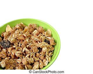 granola, puchar