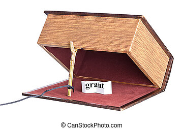 grant trap, catch - box is installed in the form of the...