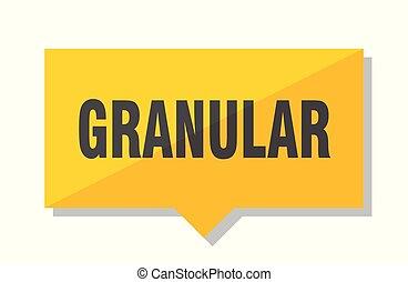 granular, precio