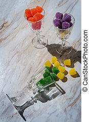 Granulated Sugar Coated Gumdrops - Granulated sugar coated ...