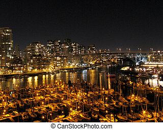Granville Island Harbour, Vancouver