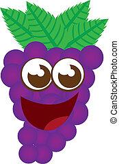 grape cartoon