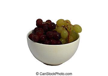 grape in a bowl