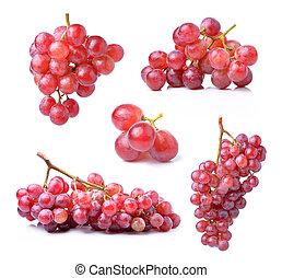 grape isolated on white background
