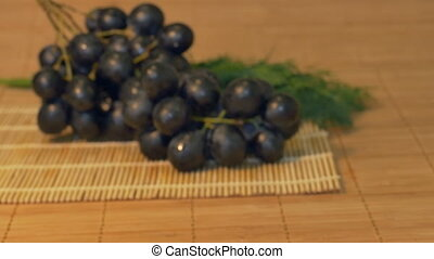 Grape on the Table