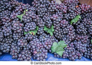 Grape, Red Grape, Fruit, Berry Fruit, Food