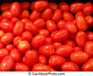 Grape Tomatoes at the Supermarket.