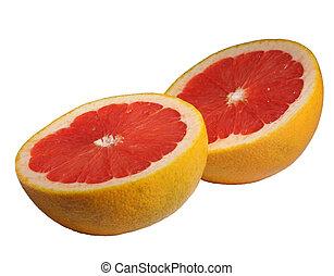 grapefruit isolated