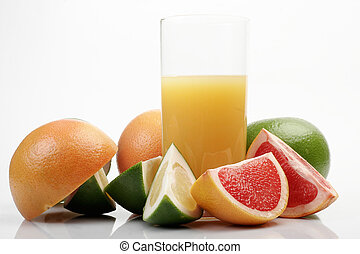 Grapefruit & juice