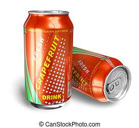 Grapefruit soda drinks