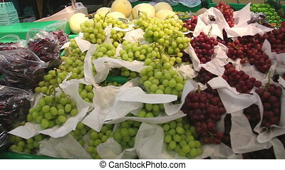 Grapes and other fruits