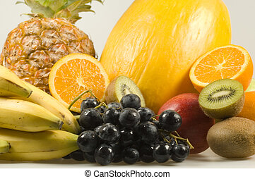 different kind of fruits