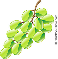 grapes fruit icon clipart