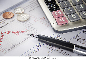 Graph and finance