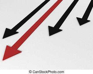 graph of arrows