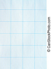 Background made from blue graph paper sheet