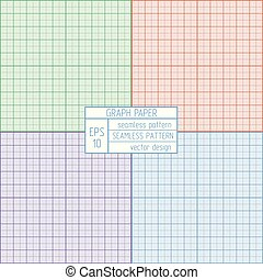 Graph paper pattern